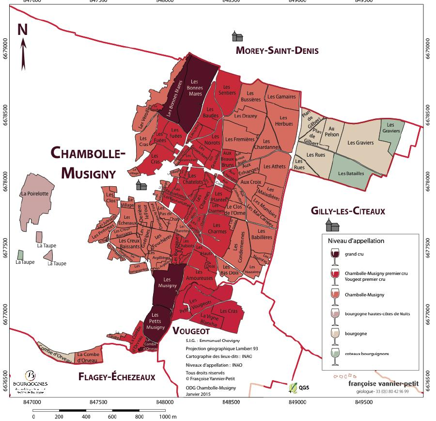 Chambolle-Musigny-carte