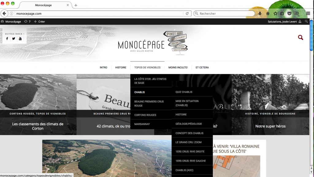 Monocepage_themes